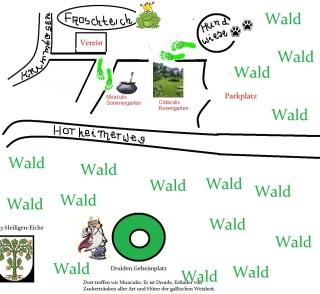 Sommergarten Miraculix und Cidaculix